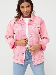 v-by-very-wash-denim-jacket-pink