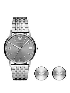 emporio-armani-emporio-armani-grey-sunray-dial-stainless-steel-bracelet-mens-watch-and-cufflink-gift-set