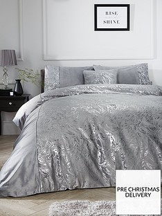 alexis-marble-foil-and-velvet-duvet-cover-set