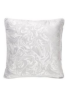 alexis-marble-foil-and-velvet-cushion