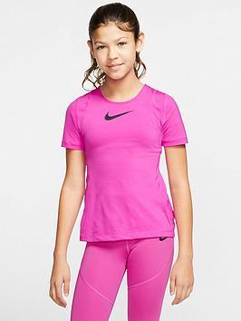 nike-pro-older-girls-training-t-shirt