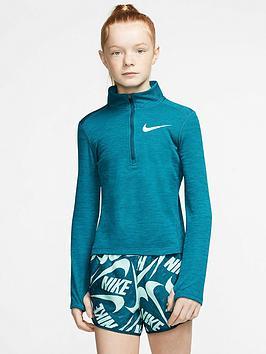 nike-older-girls-12-zip-running-top-turquoise
