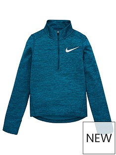 nike-older-girls-12-zip-running-top-turquoise