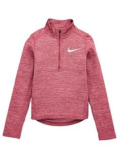 nike-older-girls-12-zip-running-top-pink