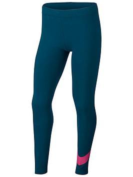 nike-sportswear-older-girls-swoosh-leggings-turquoise