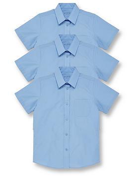v-by-very-girls-3-pack-short-sleeve-school-blouses-blue