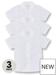 v-by-very-girls-3-pack-revere-short-sleeve-school-blouse-white
