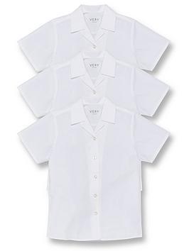 v-by-very-girls-3-pack-revere-short-sleeve-school-blouse