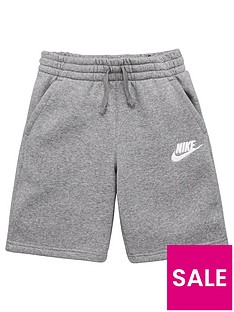 nike-sportswear-older-boys-club-shorts-grey