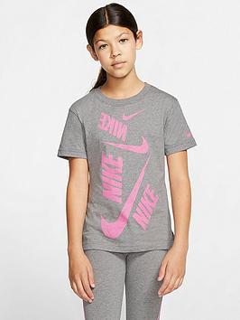 nike-sportswear-older-girls-short-sleeve-swoosh-t-shirt-grey-heather