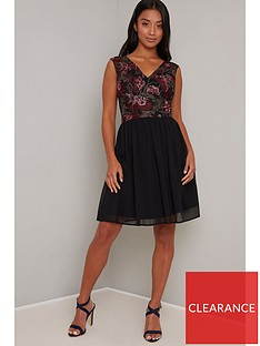 chi-chi-london-petite-tashyah-dress-black
