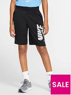 nike-older-boys-logo-training-shorts-black