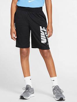 nike-older-boys-logo-training-shorts-black