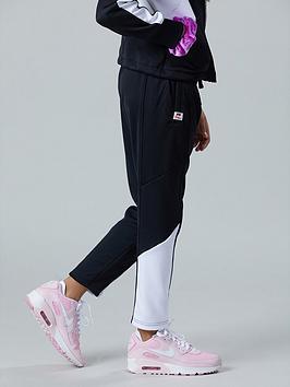 nike-sportswear-older-girls-heritage-track-pants-blackwhite