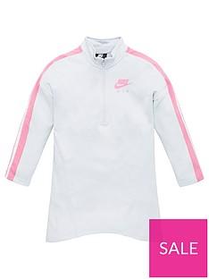 nike-sportswear-air-older-girls-12-zip-dress-off-white