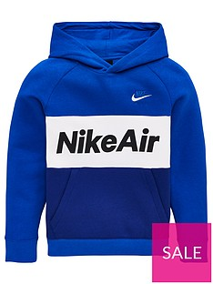 nike-sportswear-air-older-boys-overhead-hoodie-royal-blue
