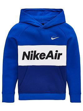 nike-sportswear-air-older-boys-overhead-hoodie-royal-blue
