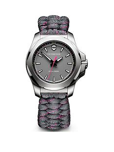victorinox-victorinox-swiss-made-inox-v-grey-200m-sapphire-glass-dial-with-stainless-steel-37mm-case-and-removable-shield-grey-with-pink-paracord-strap-watch