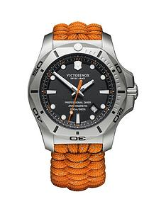 victorinox-victorinox-swiss-made-inox-diver-black-sapphire-glass-date-dial-steel-45mm-case-orange-reflective-paracord-watch-extra-strap-and-magnifying-glass