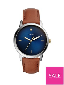 fossil-fossil-blue-sunray-and-gold-detail-dial-tan-leather-strap-mens-watch