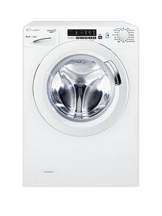 Candy Grand'O Vita GVS 128D3 8kg Load, 1200 Spin Washing Machine with Smart Touch - White