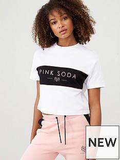 pink-soda-hermosa-panel-tee-whitenbsp