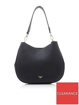 dune-london-demillie-large-slim-slouch-bag-black