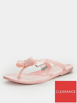 ted-baker-luzzi-origami-bow-flip-flop-nude-pink