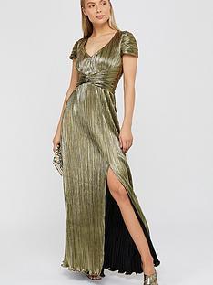 monsoon-loreen-lame-maxi-dress-gold