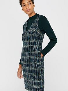 monsoon-talia-check-dress