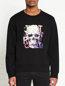 just-cavalli-skull-print-sweatshirt-black