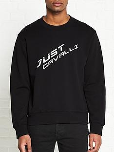 just-cavalli-logo-print-sweatshirt-black