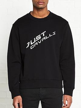 just-cavalli-logo-print-sweatshirt-black