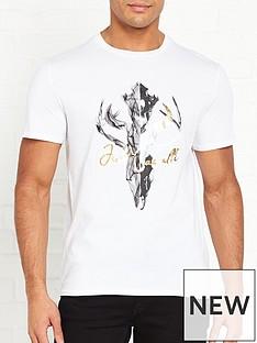 just-cavalli-ram-skull-print-t-shirt-white