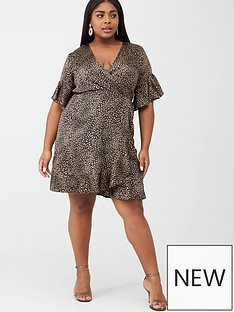 ax-paris-curve-printed-wrap-dress