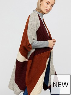 monsoon-polly-colour-block-poncho