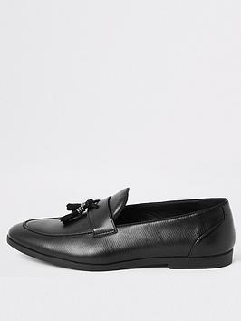 river-island-black-snake-smart-shoe