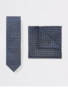 river-island-blue-tie-and-geo-print-handkerchief-set