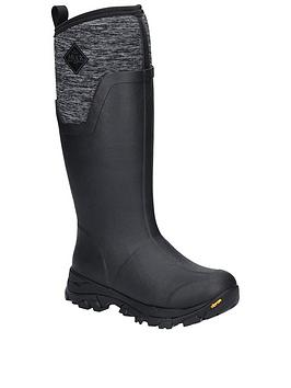 muck-boots-arctic-ice-tall-wellington-boots-heather-jersey-print