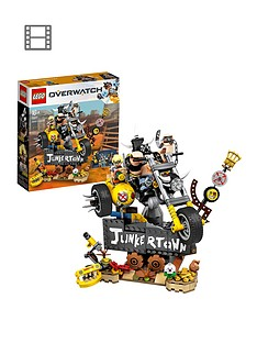 lego-overwatch-75977-junkratnbspamp-roadhog-from-junkertown