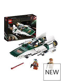 LEGO Star Wars 75248 Resistance A-Wing Starfighter Battle Starship