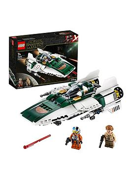 Lego Star Wars 75248 Resistance A-Wing Starfighter Battle Starship Best Price, Cheapest Prices