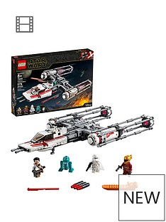 LEGO Star Wars 75249 Resistance Y-Wing Starfighter Battle Starship