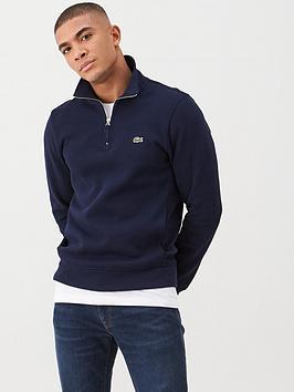 lacoste-sportswear-classic-half-zip-knitted-jumper-navy