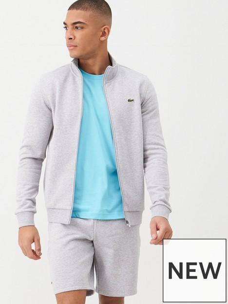 lacoste-sports-classic-zip-through-sweat-grey