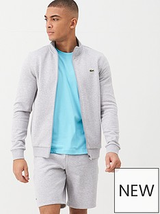 lacoste-sports-classic-zip-through-sweat-grey