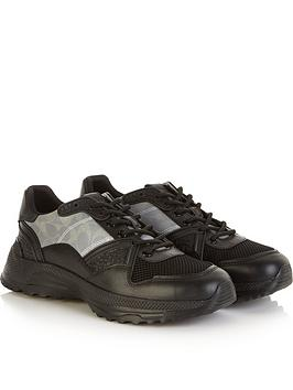 coach-mensnbspc143-reflective-chunky-sole-trainers-black