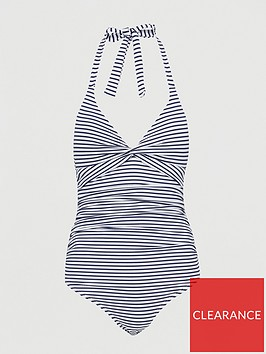 v-by-very-shapewear-twist-front-ruched-swimsuit-stripe