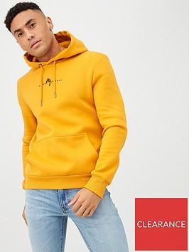 river-island-yellow-maison-riviera-slim-fit-hoodie