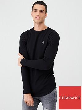 river-island-black-r96-long-sleeve-t-shirt